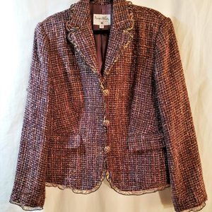 Pamela McCoy Ladies Multi-Color/Blend Blazer Sz 1X